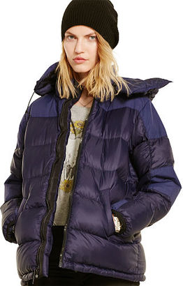 Ralph Lauren Denim & Supply Hooded Down Jacket $225 thestylecure.com