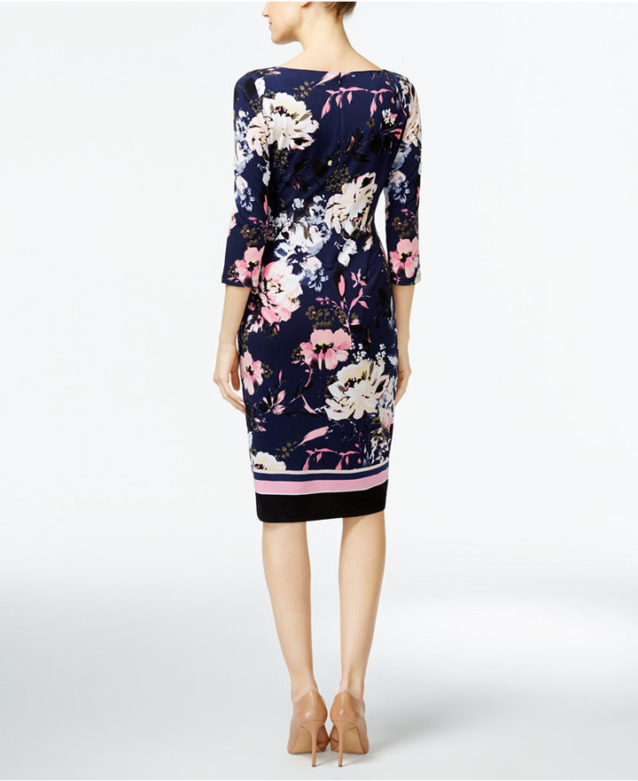 INC International Concepts Printed Sheath Dress, Only at Macy's 2