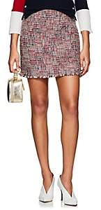 Thom Browne Women's Wool-Blend Tweed Miniskirt - Red