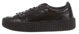 FENTY PUMA by Rihanna Patent Leather Flatform Sneakers