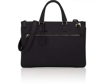 Barneys New York Men's Slim Leather Briefcase