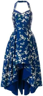 Alice + Olivia Alice+Olivia asymmetric floral print dress