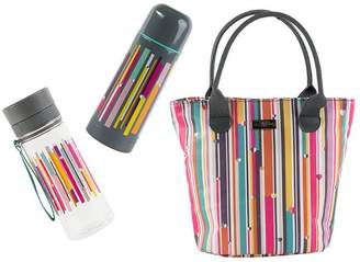 Linea BEAU & ELLIOT Insulated Lunch Bag With Vacuum Flask & Hydration Bottle