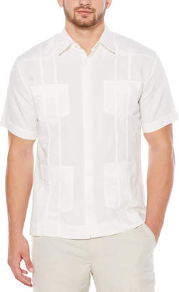 Cubavera Short Sleeve Embroidered Guayabera