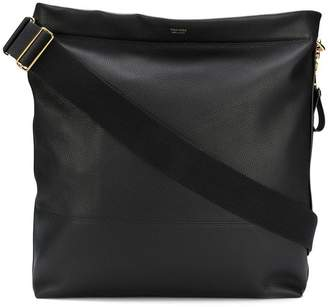Tom Ford logo large shoulder bag