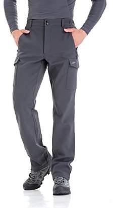 83a3549ca Men s Water-Repellent Softshell Fleece-Lined Cargo Pant (-