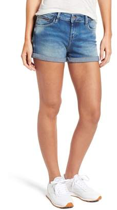 Tommy Jeans Cuffed Denim Shorts