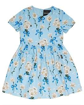 Rock Your Kid Buttercup S/S Dress (Girls 3-8 Years)