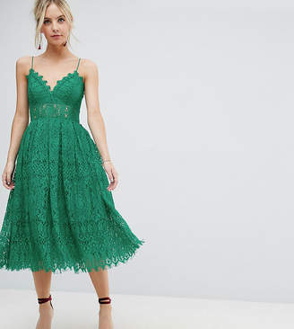 177c0267e7006 Asos Green Lace Dresses - ShopStyle
