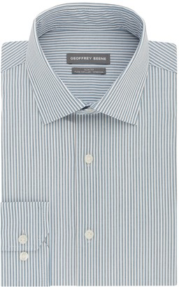 Geoffrey Beene Men's Slim-Fit Stretch Flex Spread-Collar Dress Shirt