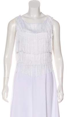 Alexis Fringed Sleeveless Top