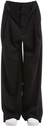 Y/Project 27cm Double Waist Stretch Wool Pants