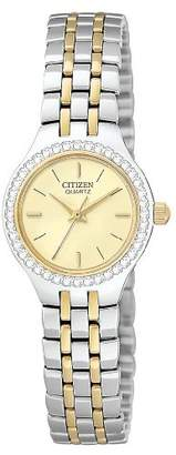 Citizen Women's Quartz Crystal Accent Watch