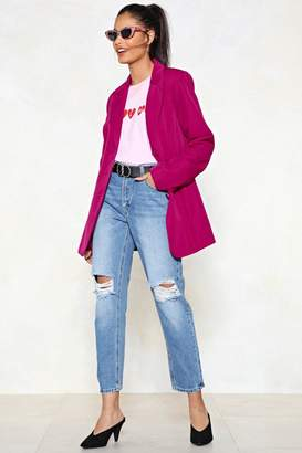 Nasty Gal Bust This Case Mom Jeans