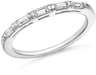 Bloomingdale's Diamond Baguette Stacking Band in 14K White Gold, .25 ct. t.w. - 100% Exclusive