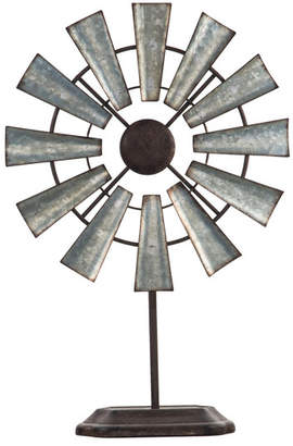 Home Essentials and Beyond Galvanized Windmill
