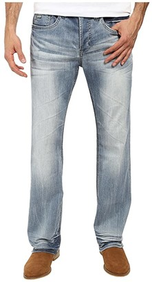 Buffalo David Bitton King Slim Boot Cut Jeans in Heavy Sandblasted