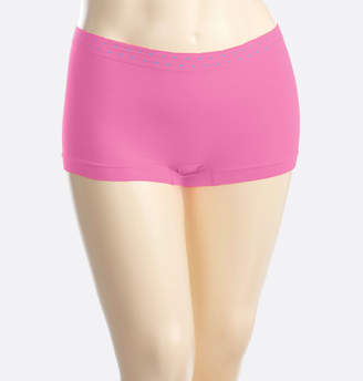Avenue Orchid Dot Seamless Boy Short Panty