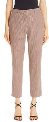 Etro Crop Stretch Cotton Pants