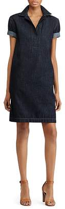 Lauren Ralph Lauren Denim Shirt Dress $125 thestylecure.com