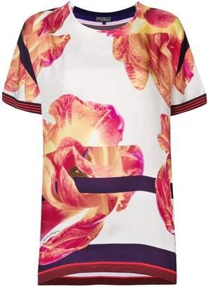 Salvatore Ferragamo floral print blouse