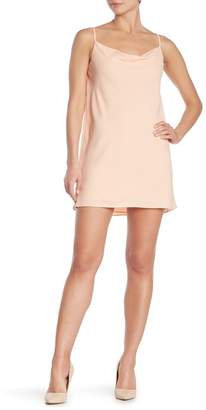1 STATE 1.State Cowl Neck Slip Dress