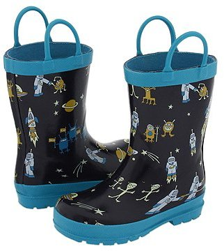 Hatley Kids - Rain Boots (Infant/Toddler) (Aliens)