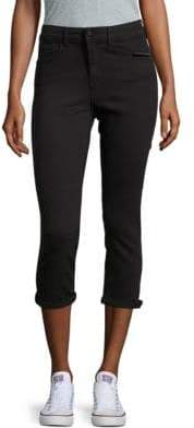 Buffalo David Bitton Solid Skinny High-Rise Jeans