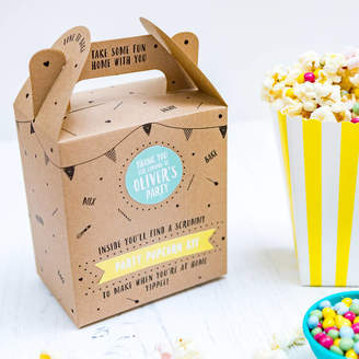 craft & crumb Party Bag Popcorn Kit