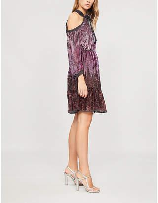 NEEDLE AND THREAD Kaleidoscope sequin dress