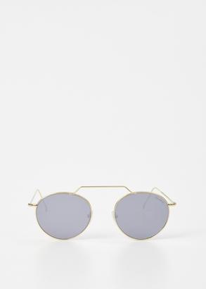 Illesteva gold / silver mirror wynwood ii $177 thestylecure.com