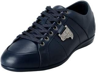 Versace Men's Leather Fashion Sneakers Shoes