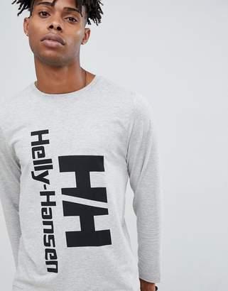 Helly Hansen Heritage Long Sleeve Top in Gray