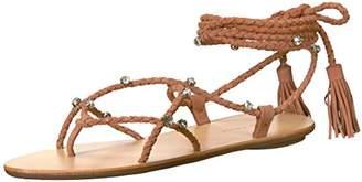 Loeffler Randall Women's Bo Wrap Sandal (Rhinestones)