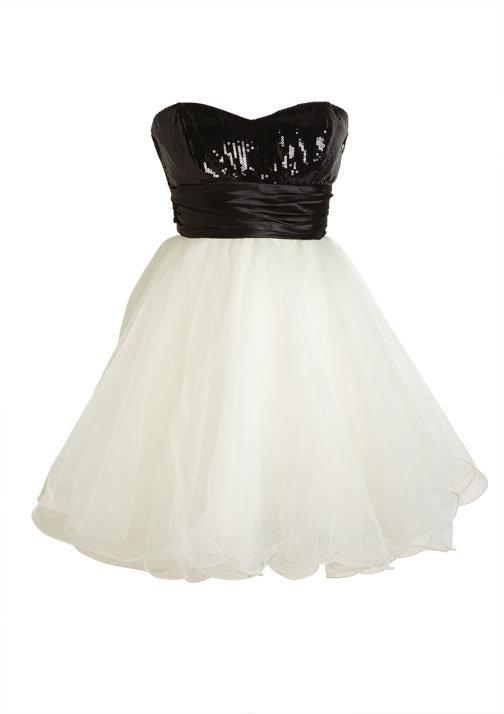 Alexa Sequin Tulle Dress