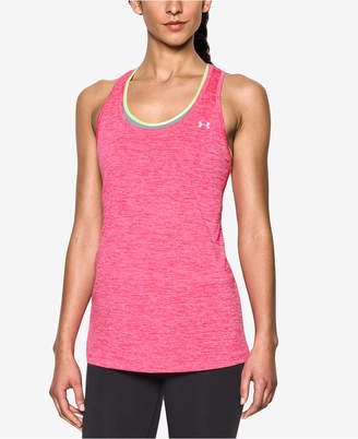 Under Armour (アンダー アーマー) - Under Armour Ua Tech- Twist Racerback Tank Top