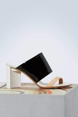Maison Margiela Bicolor sandals
