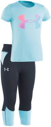 8844af5a94ad69 Under Armour Toddler Girl Graphic Tee & Colorblock Leggings Set