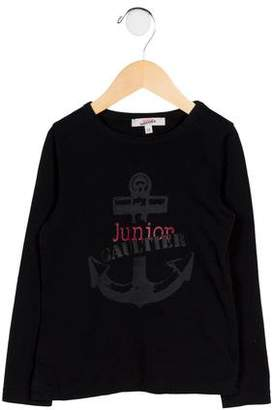 Junior Gaultier Boys' Printed Knit Shirt