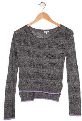 Splendid Girls' Knit Long Sleeve Sweater