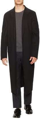 Jil Sander Men's Intelati Wool Flap Pocket Top Coat