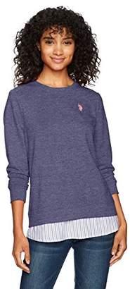 U.S. Polo Assn. Women's 2fer Shirt