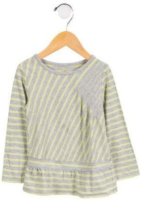 Egg Girls' Striped Long Sleeve Top