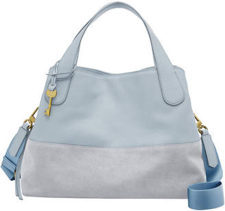 Fossil Maya Zip Top Satchel