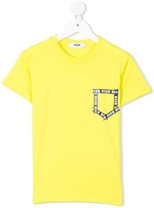 MSGM logo pocket T-shirt