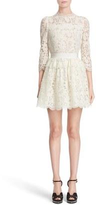 Women's Alexander Mcqueen Floral Lace Dress $3,685 thestylecure.com