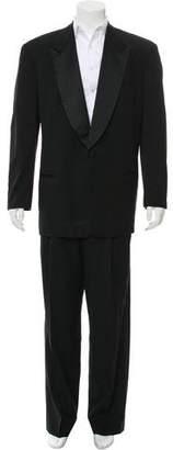 Giorgio Armani Wool Tuxedo Suit