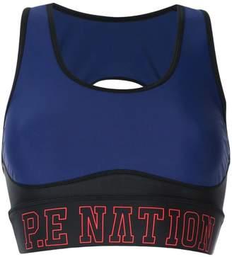 P.E Nation Discus sports bra