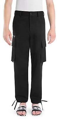 Versace Men's Cotton Cargo Pants