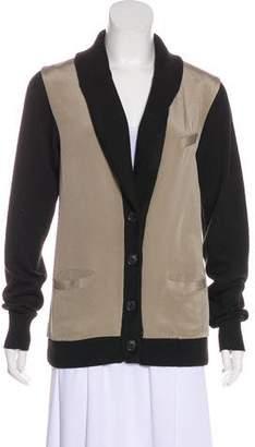 Elizabeth and James Silk Long Sleeve Jacket